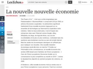 Article économie coopérative