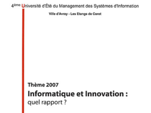 Article informatiquet et innovation