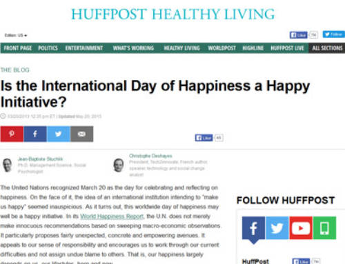 Is the International Day of Happiness a Happy Initiative?