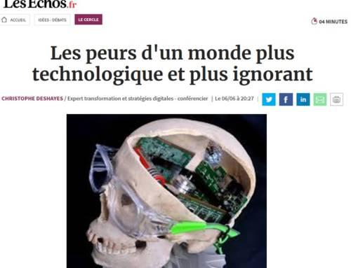 Les peurs d'un monde plus technologique et plus ignorant