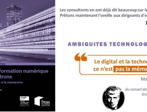 Le Digital et les patrons – Le dernier ouvrage de Christophe Deshayes